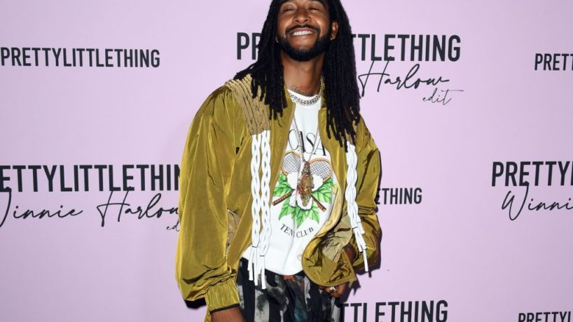 LOS ANGELES, CALIFORNIA - JULY 14: Omarion attends the PLT x Winnie Harlow Event hosted by PrettyLittleThing at La Mesa Lounge and Restaurant on July 14, 2021 in Los Angeles, California.