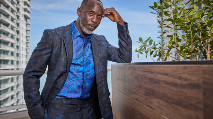 MIAMI, FL - MARCH 31: Michael K. Williams is seen in his award show look for the 27th Annual Screen Actors Guild Awards on March 31, 2021 in Miami, Florida. Due to COVID-19 restrictions the 2021 SAG Awards will be a one-hour, pre-taped event airing April 4 on TNT and TBS.
