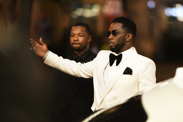 """Sean """"Diddy"""" Combs attends Black Tie Affair for Quality Control's CEO Pierre Thomas, also know as Pee Thomas, at on June 2, 2021 in Atlanta, Georgia."""