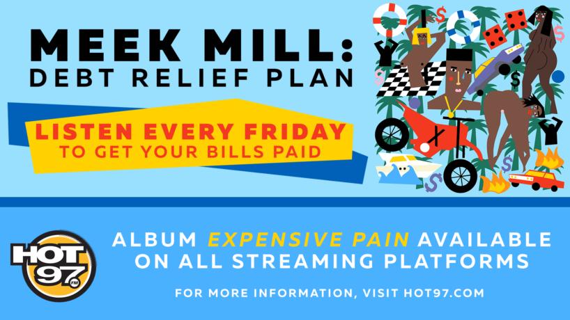 Meek Mill debt relief plan