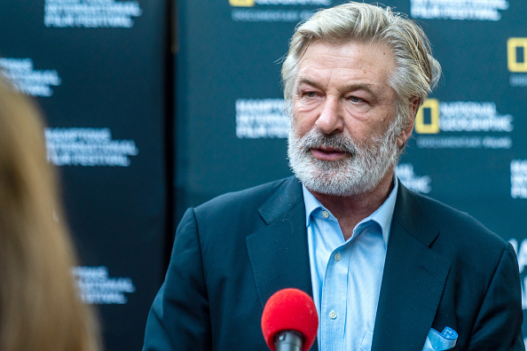 Hamptons International Film Festival Chairman, Alec Baldwin attends the World Premiere of National Geographic Documentary Films' 'The First Wave' at Hamptons International Film Festival on October 07, 2021 in East Hampton, New York.