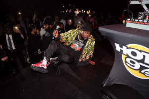 Wale at Hot 97's Hot for the Holidays 2019