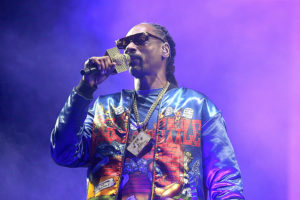 Snoop Dogg performs in concert during the Hometown Heroes Drive-In Concert at the Brushy Creek Amphitheater on September 25, 2020 in Hutto, Texas.