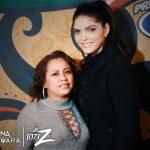Fotos con Ana Barbara en el Palomazo con 107.1 La Z: Se��ora con Ana Barbara
