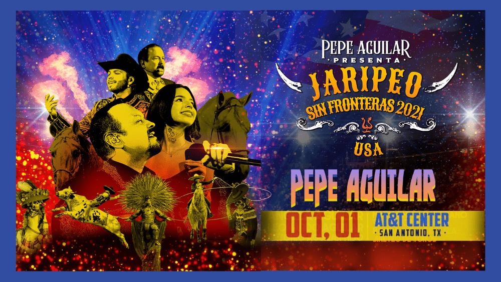 Pepe Aguilar_Jaripeo Sin Fronteras-Artwork
