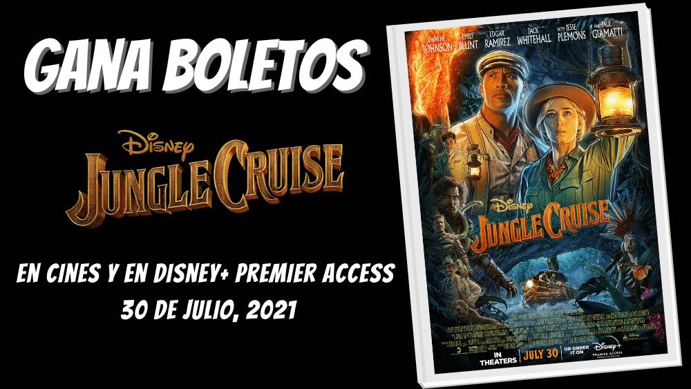 Gana Boletos - Jungle Cruise