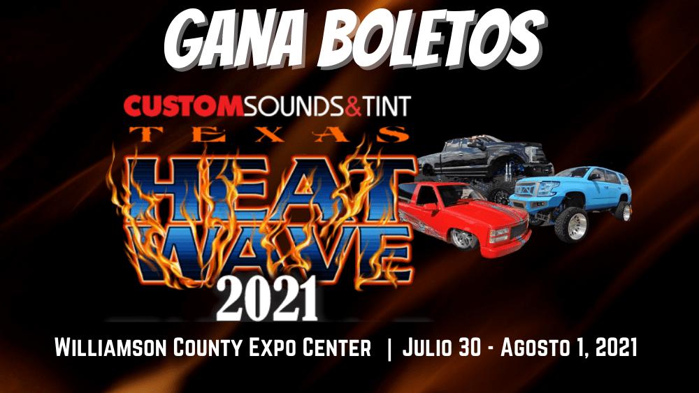 Custom Sounds & Tint Heat Wave Show