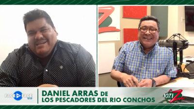 #FaceToFaceVIP con Daniel Arras de Los Pescadores Del Rio Conchos