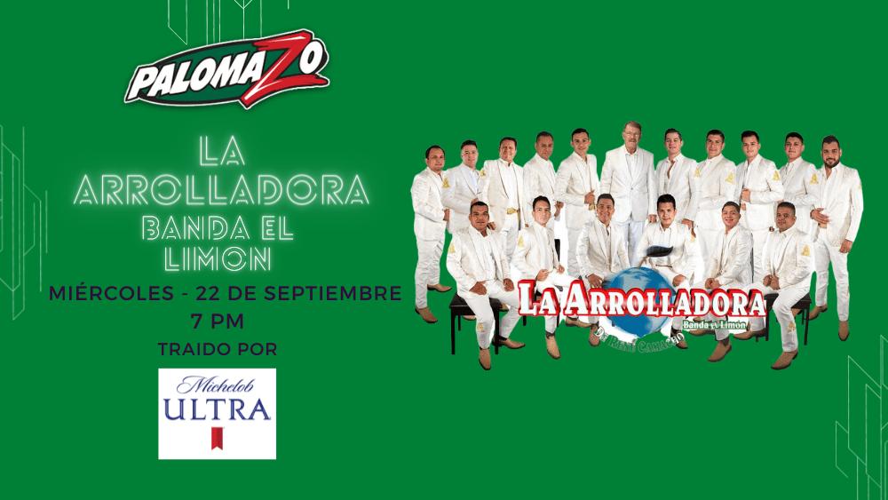 Palomazo - La Arrolladora Banda El Limon - 22 de Septiembre