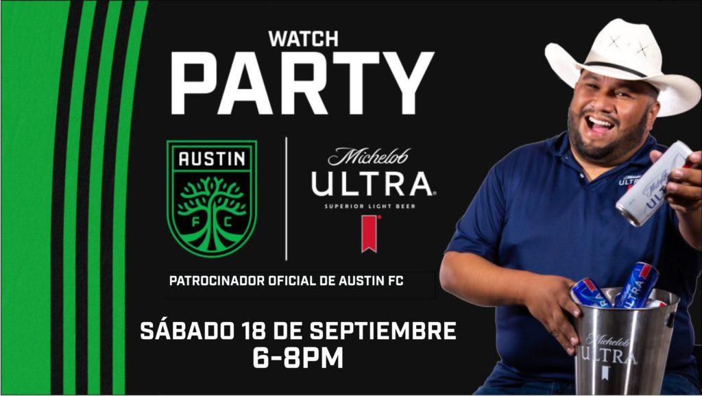 Acompana al Pato en un Watch Party del partido de Austin FC - Michelob ULTRA