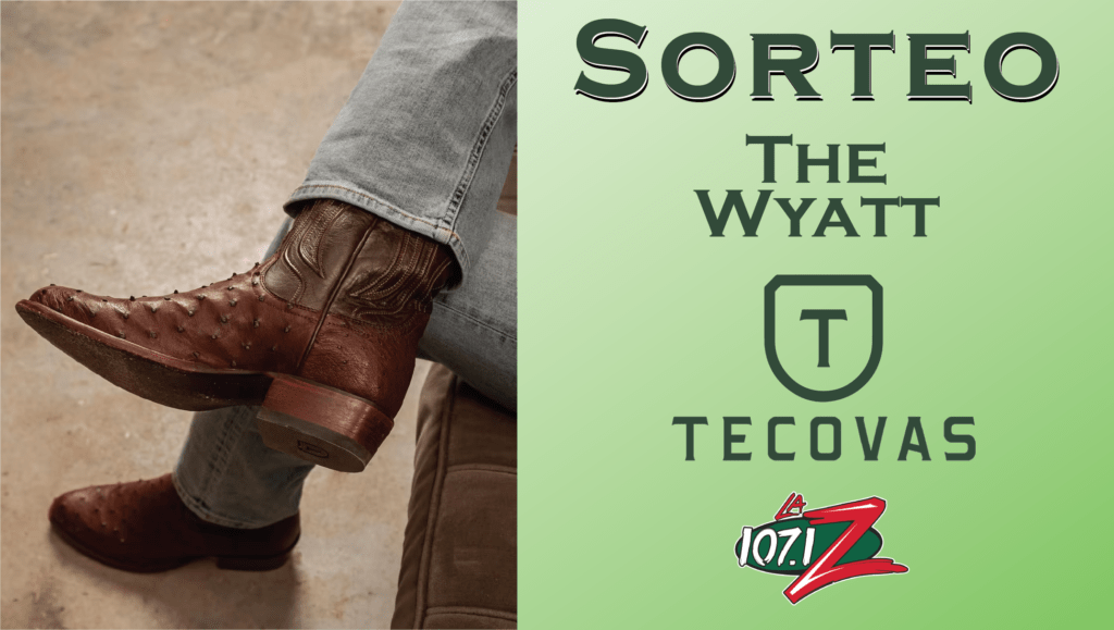 sorteo de the wyatt tecovas botas