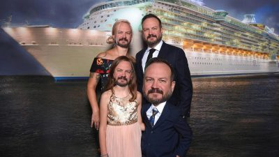 Matt Bearden on a cruise