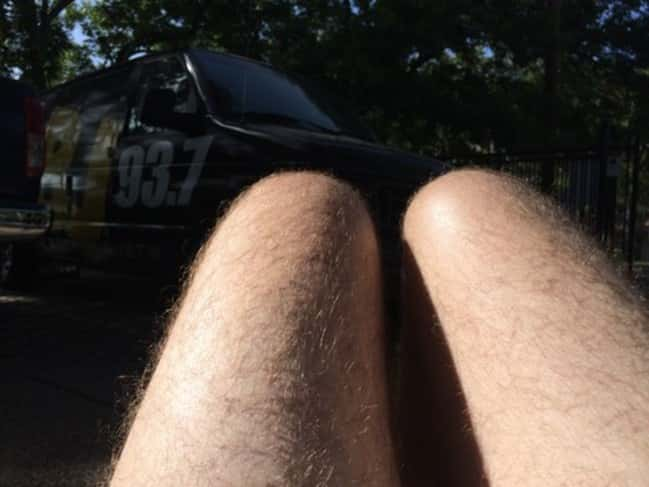 cj morgan hot dog legs