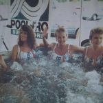 KLBJ tbt: ed in a hot tub