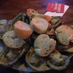 Baked oysters: Baked oysters