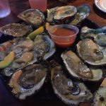 Raw oysters: Raw oysters
