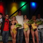 Miss Pregnant Bikini: show with winners on stage