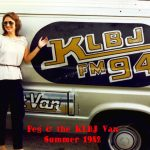 Peggy, KLBJ Van 1982: Peggy, KLBJ Van 1982