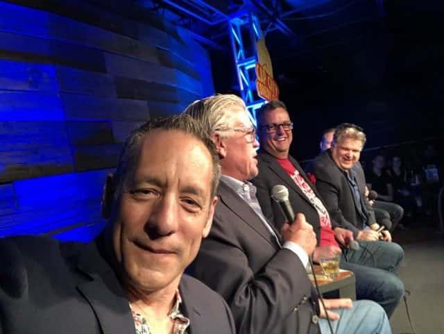 Bob Fonseca at a live sideshow