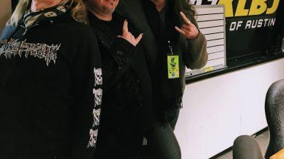 Jason McMaster and Tony Park