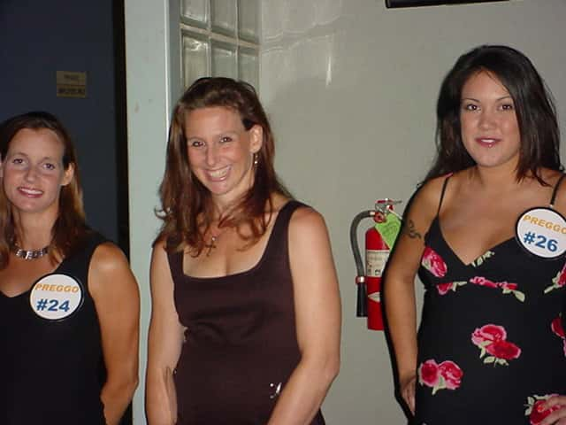 pregnant bikini contestants