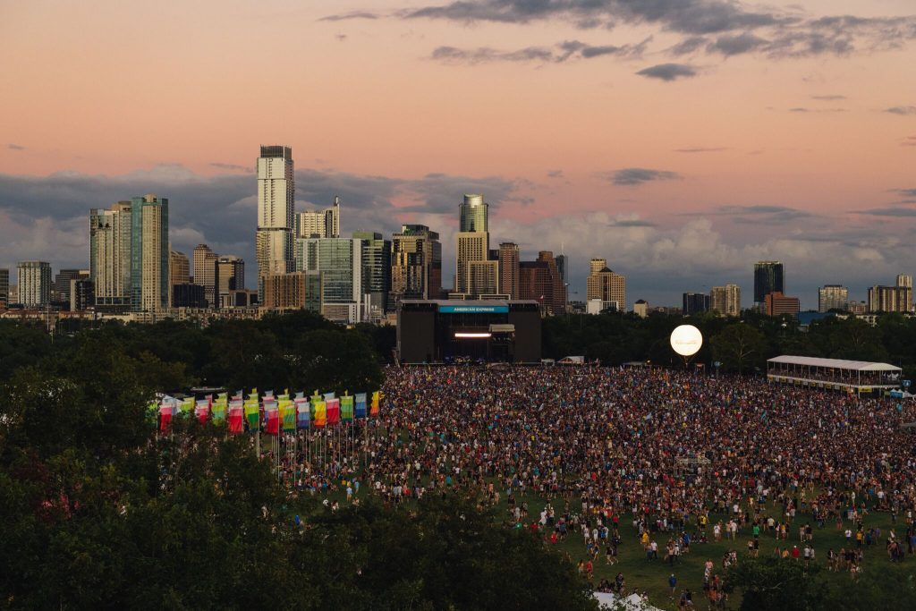 Austin City Limits Festival Aerial