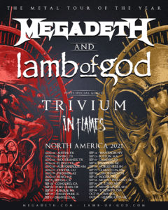 Rescheduled Megadeth and LOG