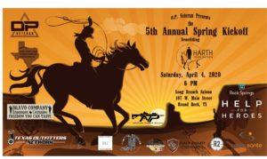 5th Annual OP Veteran Spring Kickoff Flyer