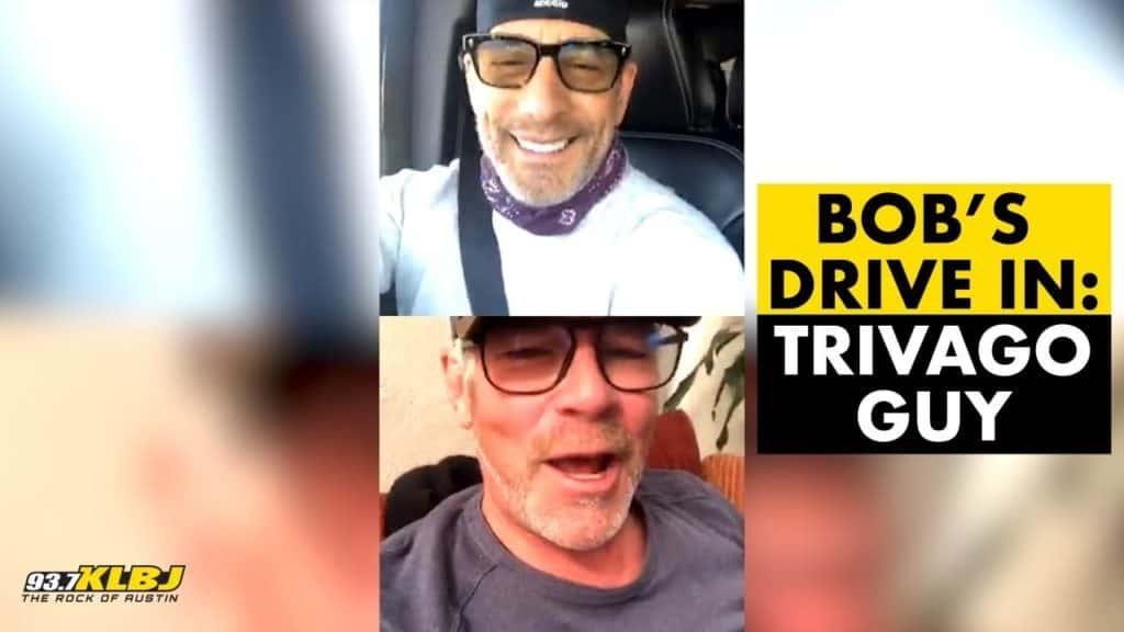 Bob and Trivago Man