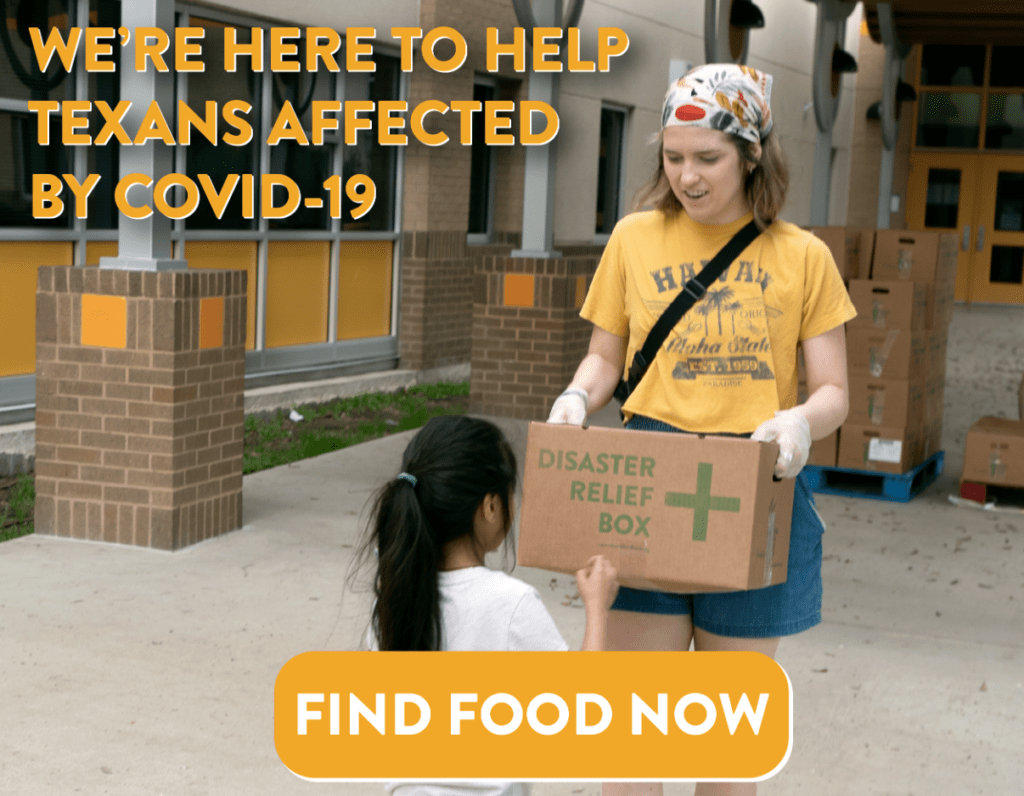 Find Food Now with Central Texas Food Bank