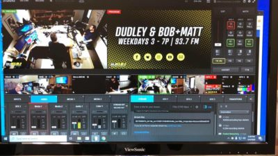 live video stream of dudley and bob with matt