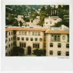 """Polaroid-Days-9-""""View-of-Beverly-Hills""""-Los-Angeles-1987-"""