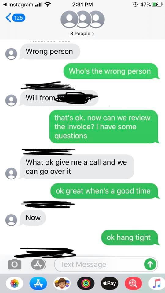screenshot of a text