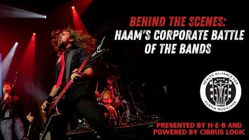 HAAM's flyer for virtual Corporate Battle of the Bands