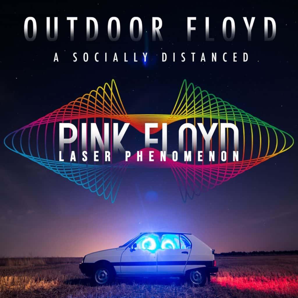 Outdoor Floyd Laser Show