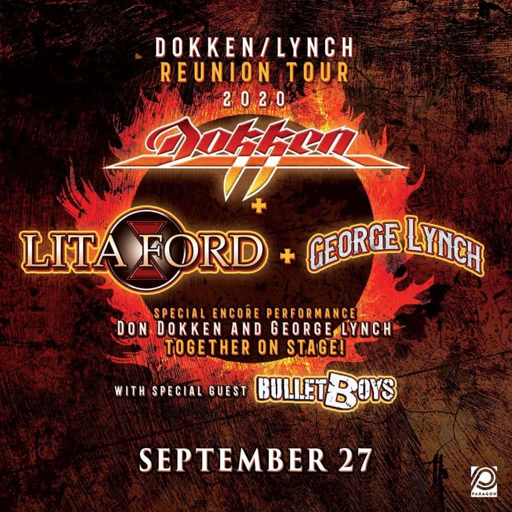 Dokken/Lynch Tour 2020