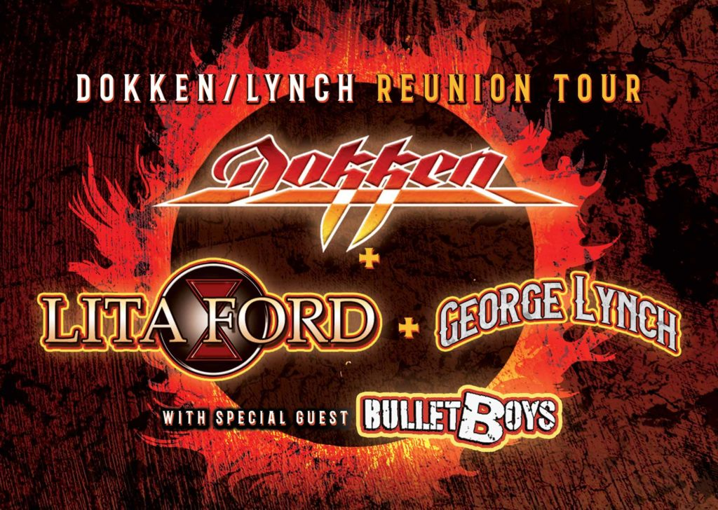 Dokken Tour poster