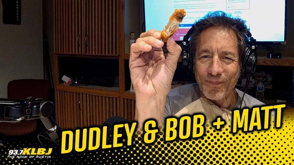 Bob and a chicken wing