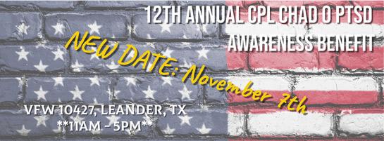 12th Annual Cpl. Chad O benefit