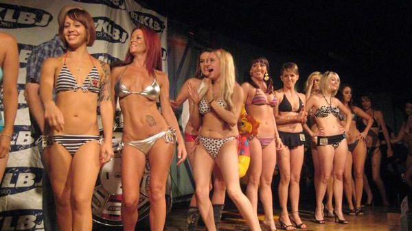 Bikini Babes of KLBJ's Past Pageants