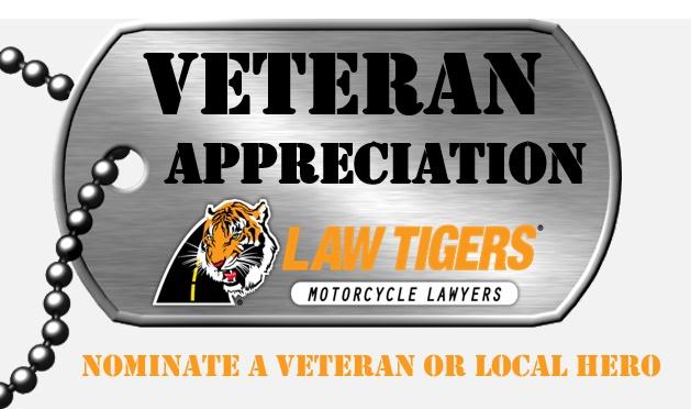 Law Tigers Veteran's Day Contest