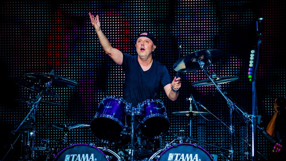 Metallica's Lars Ulrich Says Band Is Working On Writing For Upcoming New Album