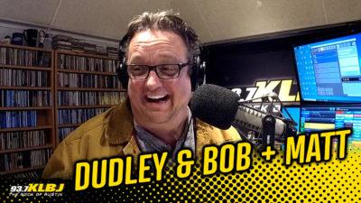 Dale in the FM studio