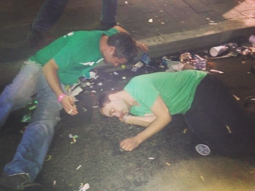 drunks men on 6th street