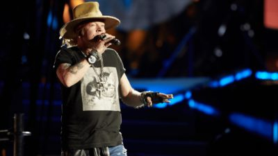 Guns N' Roses share new video from Reunion Tour