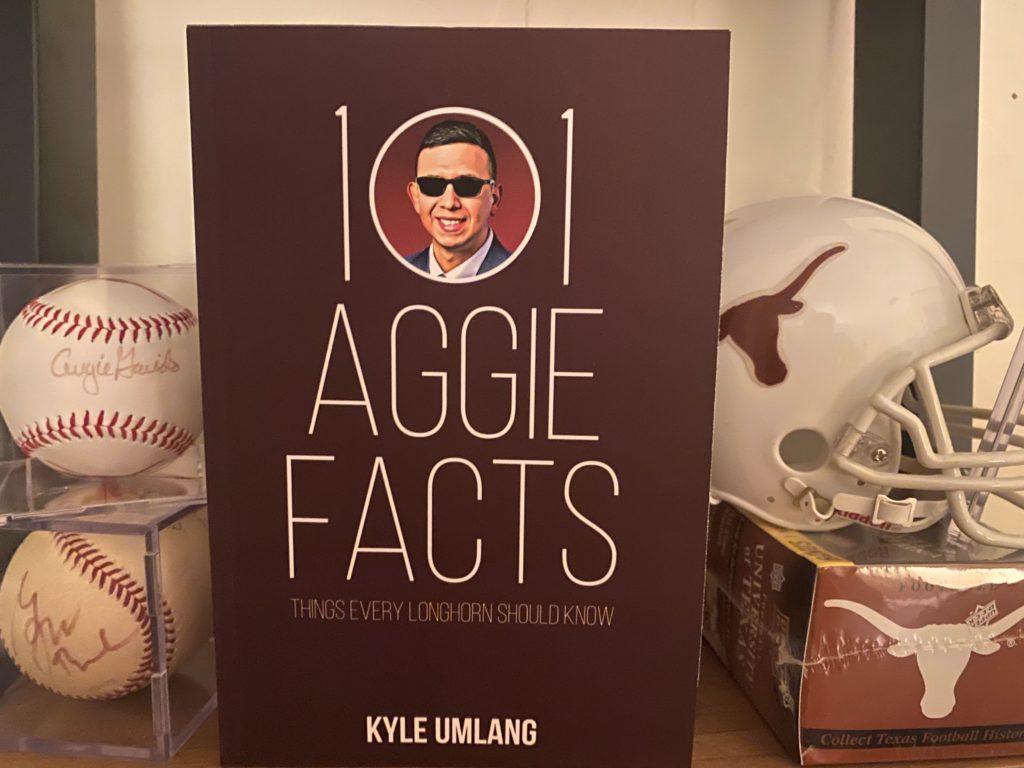 Kyle Umlang's book on B-DOE's shelf