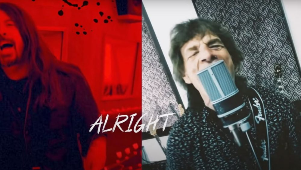 "Mick Jagger and Dave Grohl Join Forces on New Single ""Eazy Sleazy"""