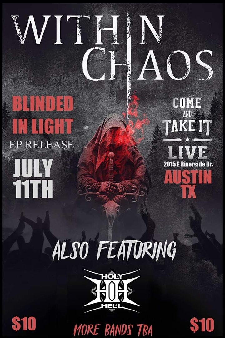 Within Chaos concert poster
