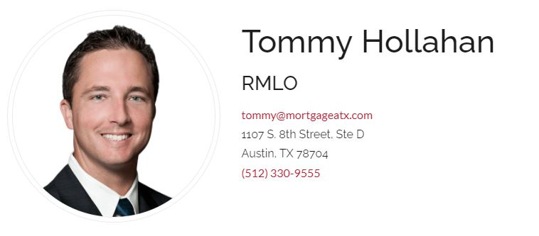 Tommy Hollahan Mortgage ATX