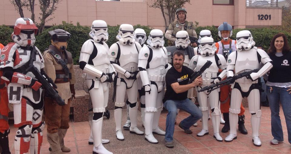 B-DOE with Star Wars Troopers